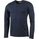 Lundhags M's Merino Light LS Henley Shirt Deep Blue